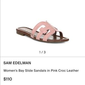 Never Worn Sam Edelman Bay Flat Sandals